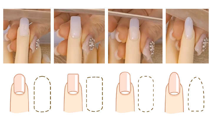 4 Types of Nail Shape & How to Shape